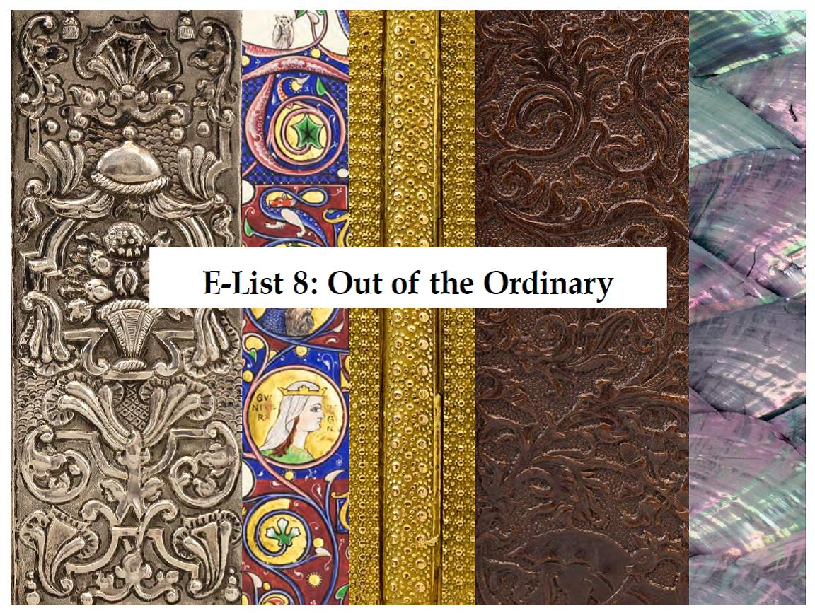 E-List 8: Out of the Ordinary