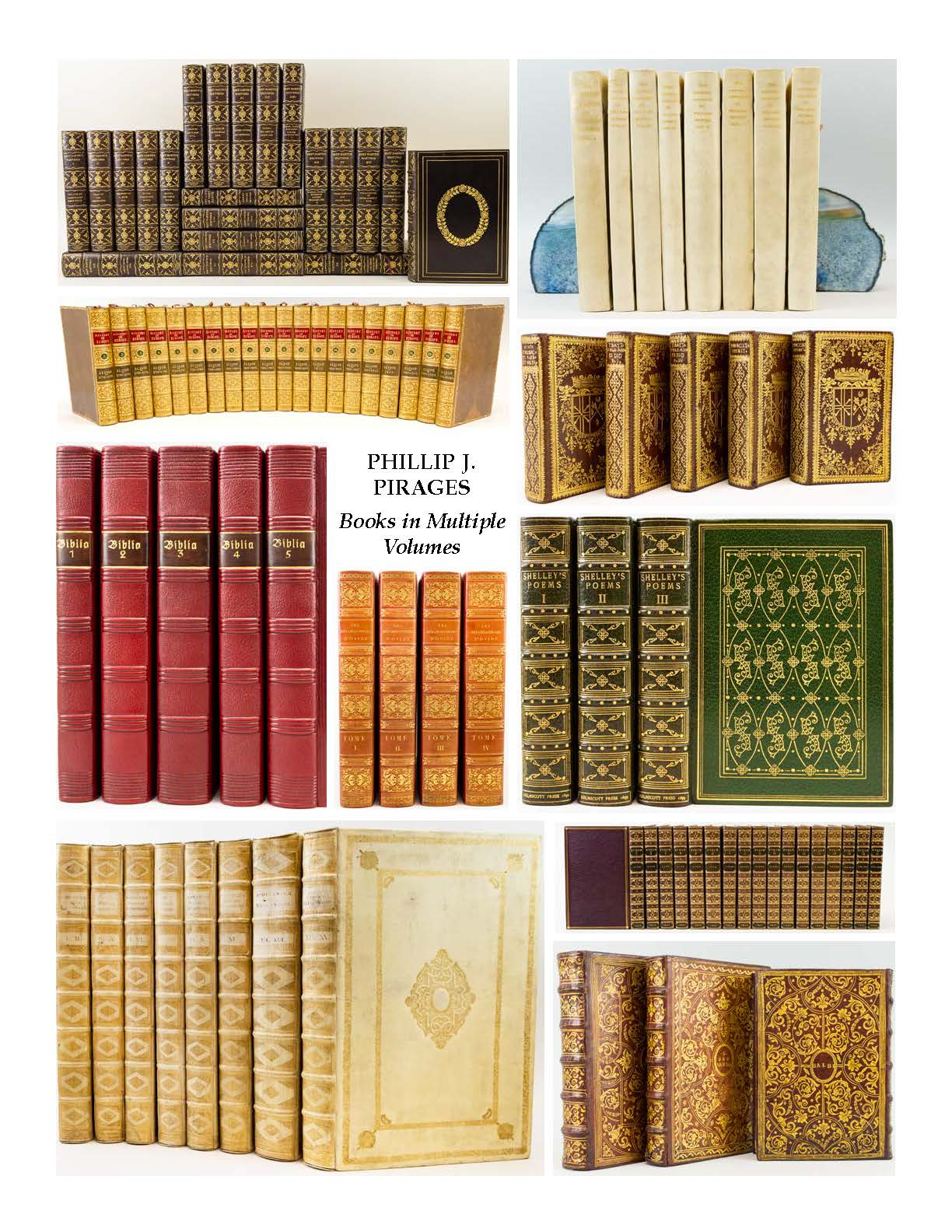 Books in Multiple Volumes