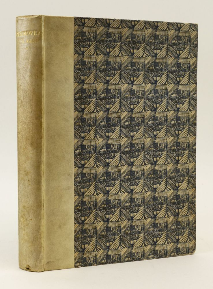 PECKOVER. THE ABBOTSCOURT PAPERS 1904-1931. CURWEN PRESS, C. R. ASHBEE.