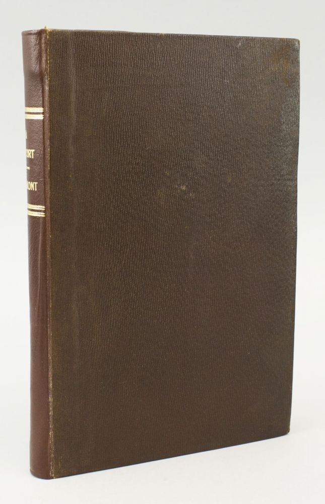 A REPORT ON AN EXPLORATION OF THE COUNTRY LYING BETWEEN THE MISSOURI RIVER AND THE ROCKY MOUNTAINS ON THE LINE OF THE KANSAS AND GREAT PLATTE RIVERS. [bound with] HOUSE REP. NO. 31, MILITARY POSTS--COUNCIL BLUFFS TO THE PACIFIC OCEAN. AMERICANA - WESTERN, JOHN C. FRÉMONT.