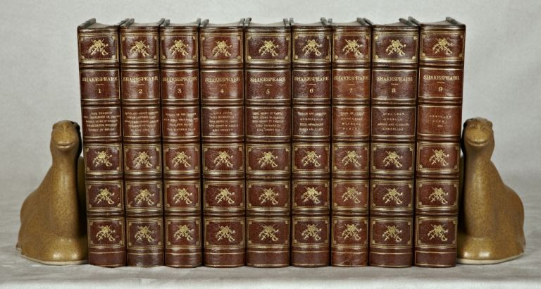 THE WORKS. BINDINGS - ZAEHNSDORF, WILLIAM SHAKESPEARE.