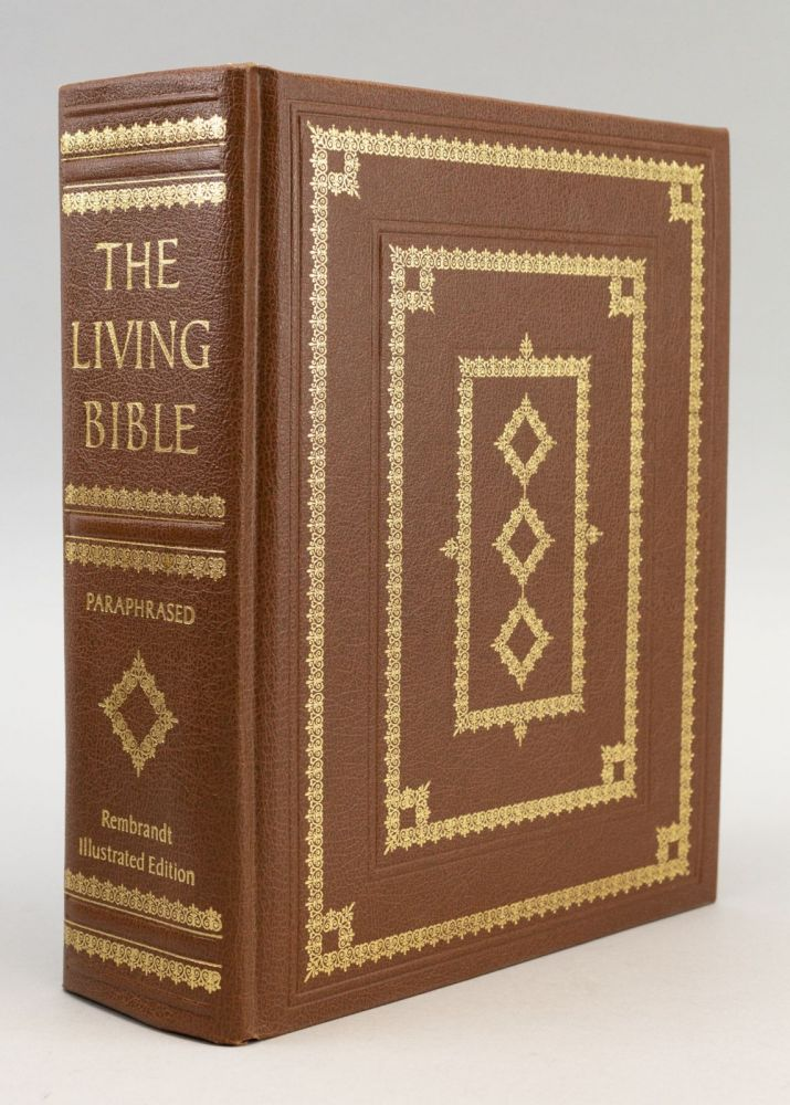 THE LIVING BIBLE. BIBLE IN ENGLISH.