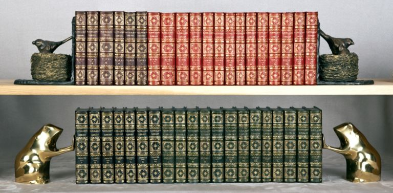 THE NATURALIST'S LIBRARY. BINDINGS - COLOR-CODED, SIR WILLIAM JARDINE.
