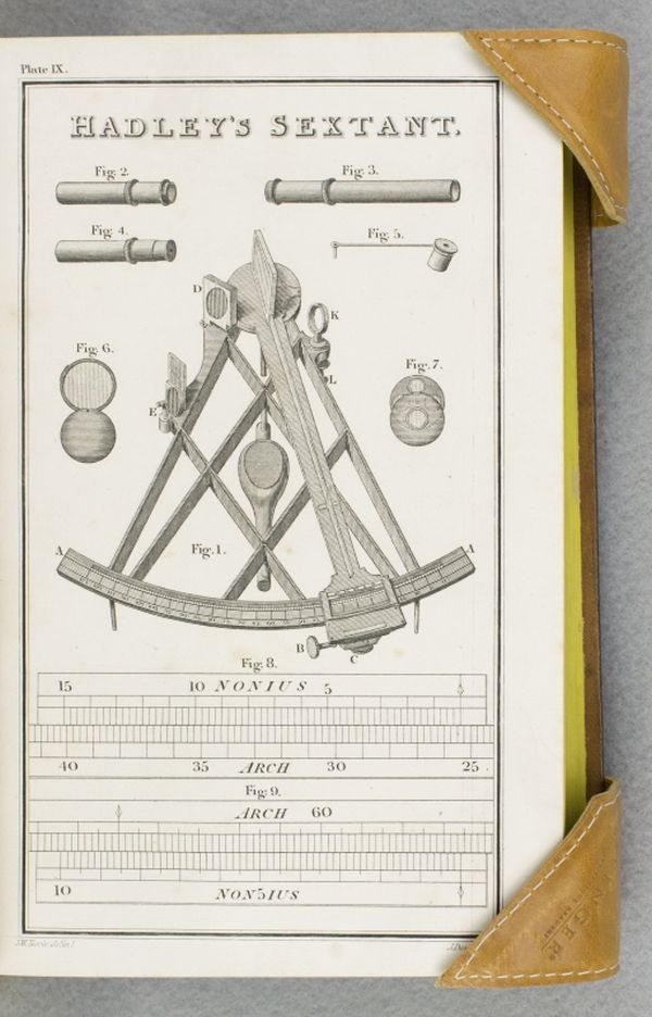 A COMPLETE EPITOME OF PRACTICAL NAVIGATION, CONTAINING ALL NECESSARY INSTRUCTION FOR KEEPING A SHIP'S RECKONING AT SEA . . . TO WHICH IS ADDED A CORRECT AND EXTENSIVE SET OF TABLES. JOHN WILLIAM NORIE.