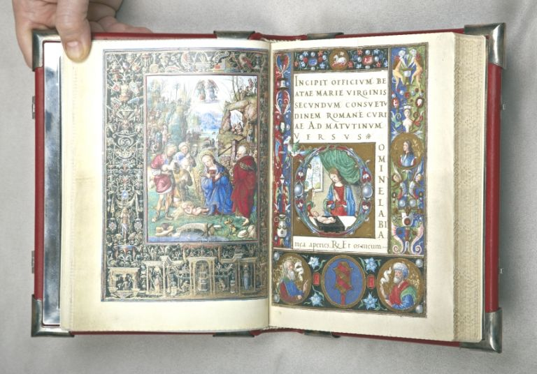 IL LIBRO D'ORE DI BONAPARTE GHISLIERI. [THE HOURS OF BONAPARTE GHISLIERI]. EARLY FACSIMILE PUBLICATION - ILLUMINATED MANUSCRIPTS.