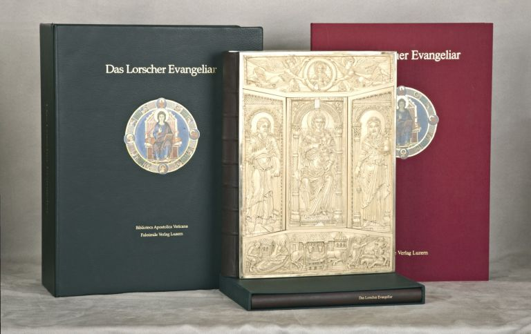 DAS LORSCHER EVANGELIAR. [THE LORSCH GOSPELS]. EARLY FACSIMILE PUBLICATION - ILLUMINATED MANUSCRIPTS.
