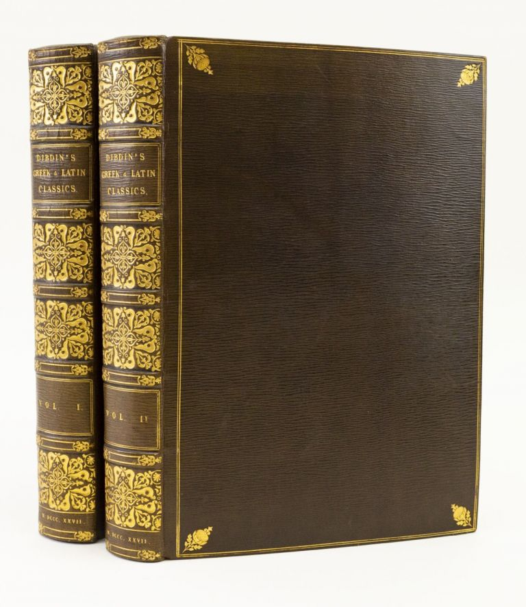 AN INTRODUCTION TO THE KNOWLEDGE OF RARE AND VALUABLE EDITIONS OF THE GREEK AND LATIN CLASSICS. THOMAS FROGNALL DIBDIN.