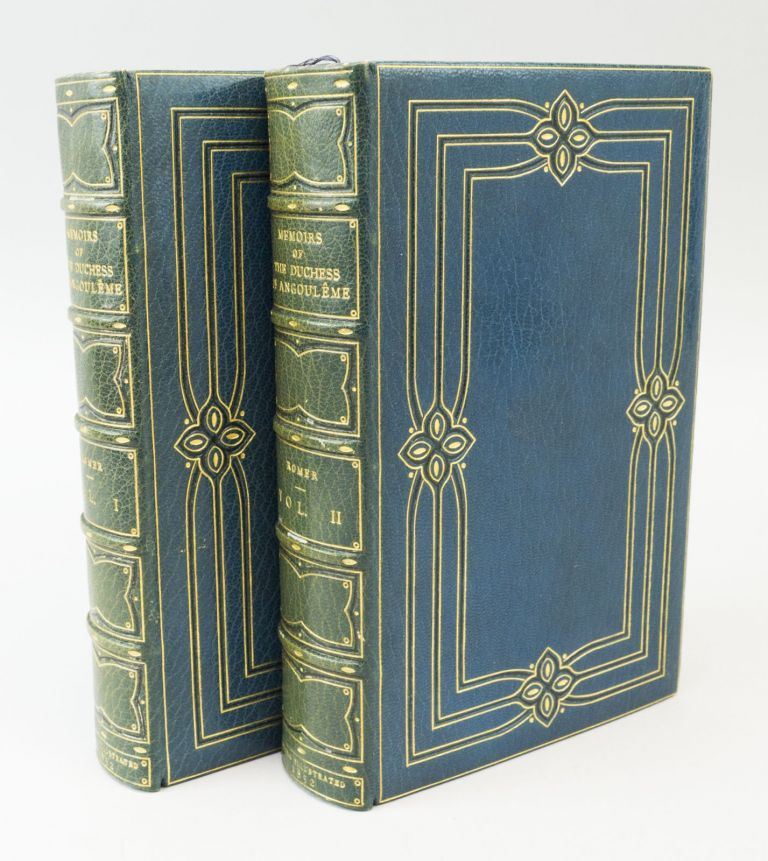 FILIA DOLOROSA. MEMOIRS OF MARIE THÉRÈSE CHARLOTTE, DUCHESS OF ANGOULÊME, THE LAST OF THE DAUPHINES. BINDINGS - BAYNTUN, ROMER MRS, HISTORY OF FRANCE, ISABELLA FRANCES.