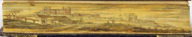 SERMONS, ON OUR DUTY TOWARDS GOD, OUR NEIGHBOUR, AND OURSELVES; AND ON OTHER SUBJECTS. FORE-EDGE PAINTING, REV. ROBERT STEVENS.