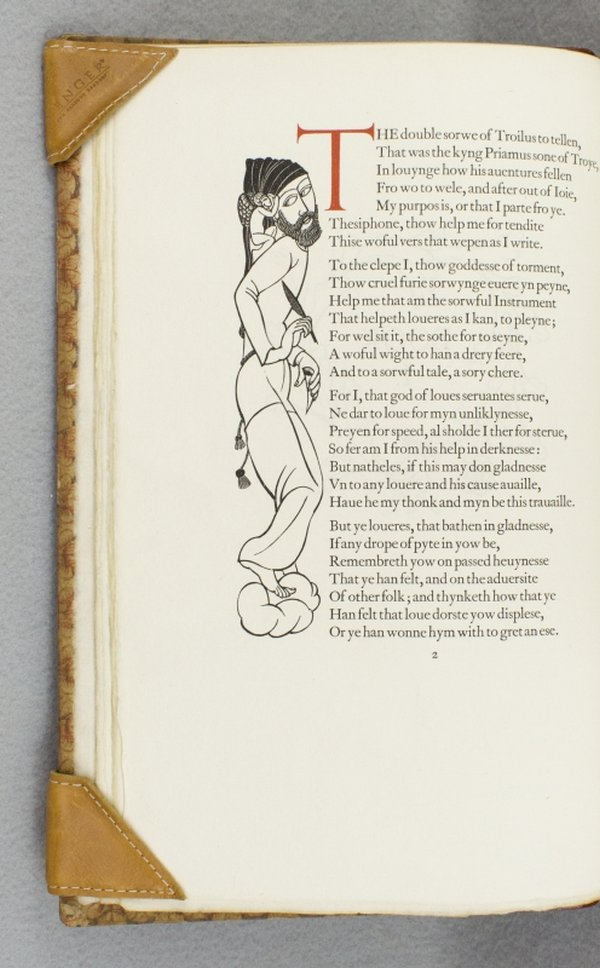 TROILUS AND CRISEYDE. GOLDEN COCKEREL PRESS, GEOFFREY CHAUCER.