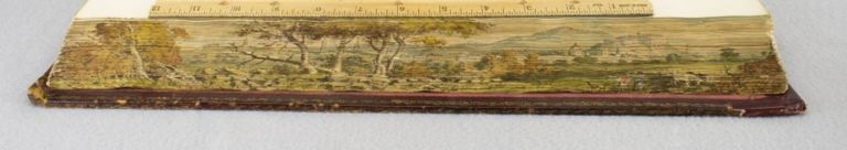 SCOTIA DEPICTA. FORE-EDGE PAINTING, JAMES FITTLER, JOHN CLAUDE NATTES.