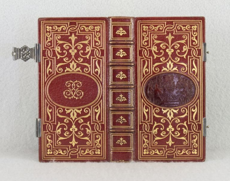 PAROISSIEN: ELZEVIR, RITE ROMAIN. PRAYER BOOK IN FRENCH.