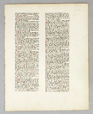 "CATHOLICON. (TEXT FROM THE LETTER ""E""). PRINTED LEAF, JOHANNES BALBUS."