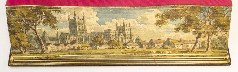 AN INQUIRY INTO THE DOCTRINES OF THE ANGLO-SAXON CHURCH, IN EIGHT SERMONS. FORE-EDGE PAINTINGS, HENRY SOAMES.