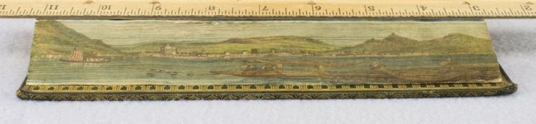 MINUTES OF REMARKS ON SUBJECTS PICTURESQUE, MORAL, AND MISCELLANEOUS: MADE IN A COURSE ALONG THE RHINE, AND DURING A RESIDENCE IN SWISSERLAND AND ITALY IN THE YEARS 1822 & 1823. FORE-EDGE PAINTINGS, WILLIAM WEBB.