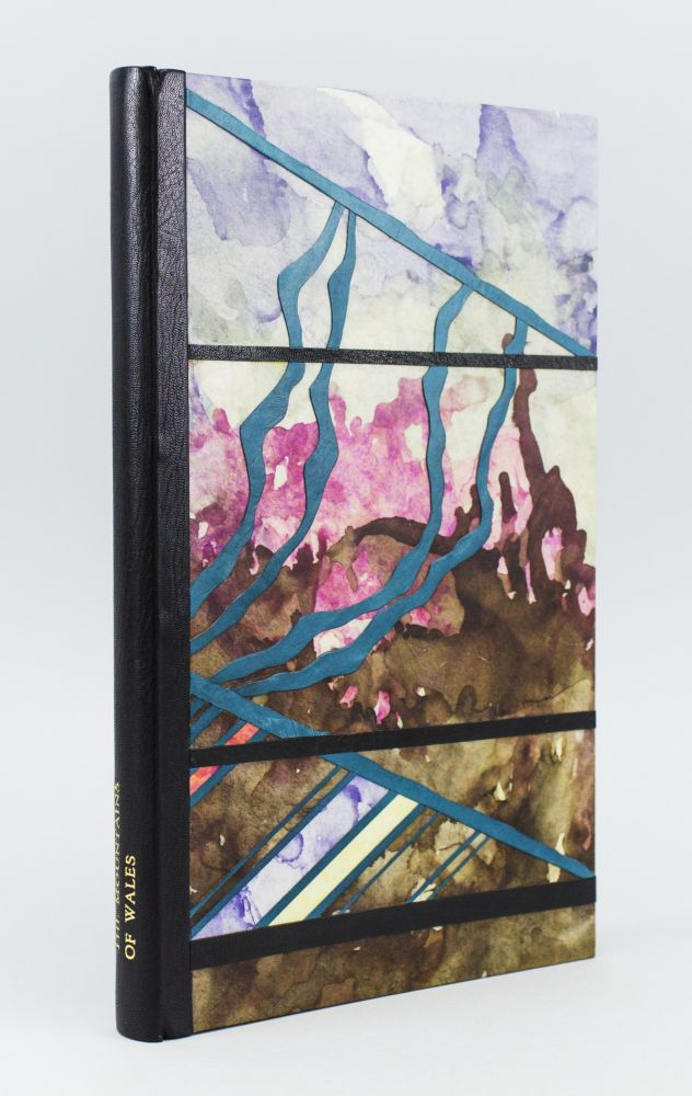 THE MOUNTAINS OF WALES: AN ANTHOLOGY IN VERSE & PROSE. BINDINGS - JAMES BROCKMAN, IOAN BOWEN REES.
