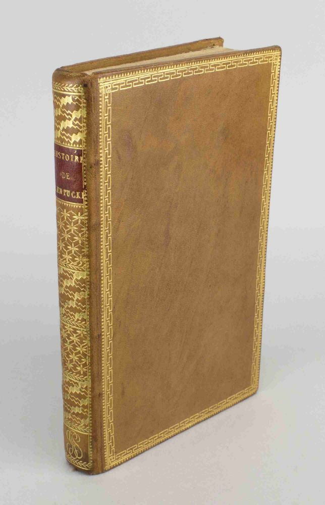 HISTOIRE DE KENTUCKE, NOUVELLE COLONIE A L'OUEST DE LA VIRGINIE. BINDINGS - EARLY AMERICAN, JOHN FILSON, KENTUCKY.