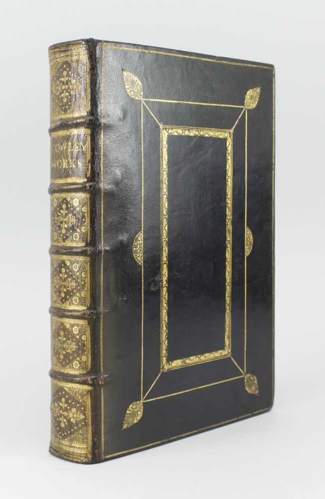 THE WORKS OF MR ABRAHAM COWLEY [bound with] THE SECOND AND THIRD PARTS OF THE WORKS OF MR ABRAHAM COWLEY. ABRAHAM COWLEY.