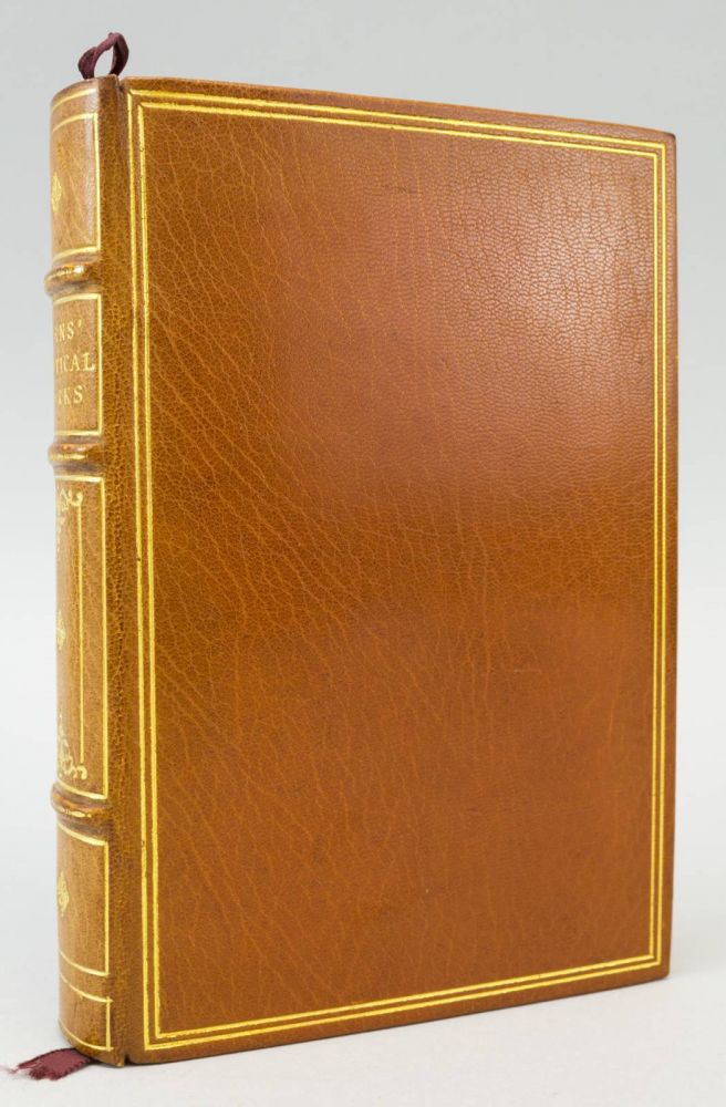 THE POETICAL WORKS OF ROBERT BURNS WITH NOTES, GLOSSARY, INDEX OF FIRST LINES AND CHRONOLOGICAL LIST. ROBERT BURNS.