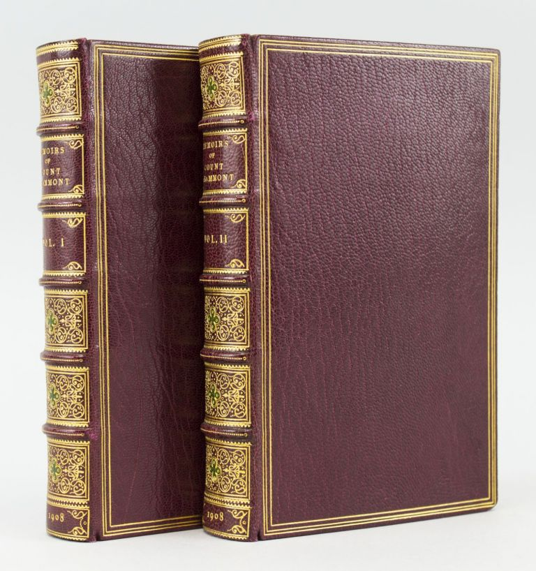 MEMOIRS OF COUNT GRAMMONT. BINDINGS - BUMPUS, ANTHONY HAMILTON.