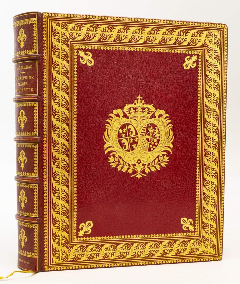 LA DAUPHINE MARIE-ANTIONETTE. BINDINGS - DURVAND, PIERRE DE NOLHAC.