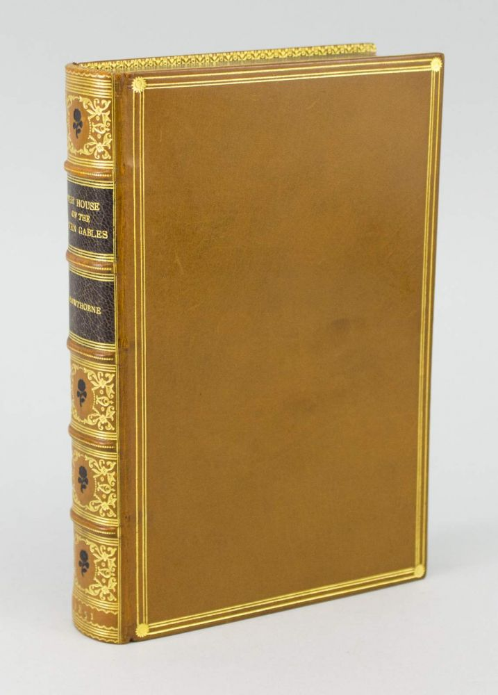 THE HOUSE OF THE SEVEN GABLES. NATHANIEL HAWTHORNE, BINDINGS - AMERICAN.
