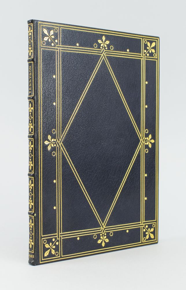 SEVEN POEMS & TWO TRANSLATIONS. BINDINGS - IMITATION DOVES BINDING, ALFRED LORD TENNYSON, DOVES PRESS.
