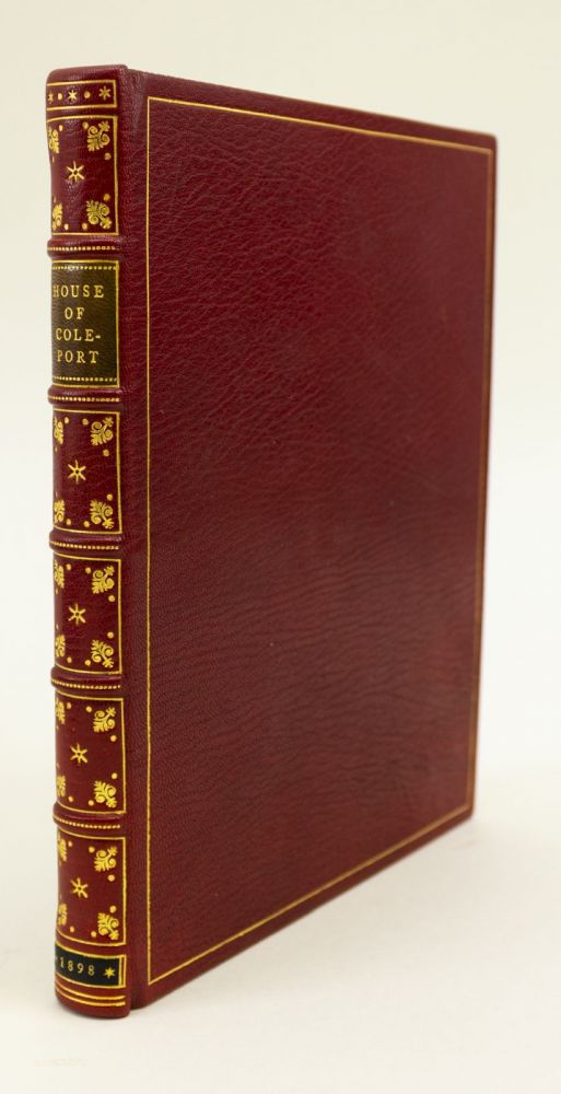 THE BOOK OF THE HOUSE OF COLEPORT, WHICH LIETH BY THE SEA. ARCHITECTURE, THOMAS LOCKWOOD.