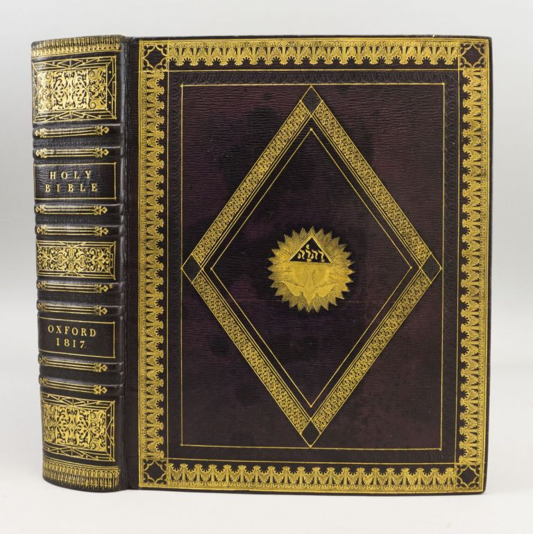 THE HOLY BIBLE, CONTAINING THE OLD AND NEW TESTAMENTS. . . . APPOINTED TO BE READ IN CHURCHES. BIBLE IN ENGLISH.