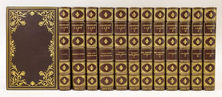 THE LIFE AND WORKS OF CHARLES LAMB. BINDINGS - FINELY BOUND SETS, CHARLES LAMB.