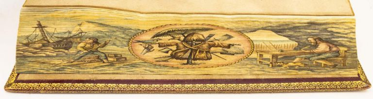 THE LIFE AND ADVENTURES OF ROBINSON CRUSOE. FORE-EDGE PAINTINGS - MARTIN FROST, DANIEL DEFOE.