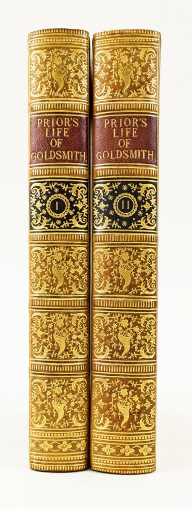 THE LIFE OF OLIVER GOLDSMITH. BINDINGS - RIVIERE, JAMES PRIOR, OLIVER GOLDSMITH.