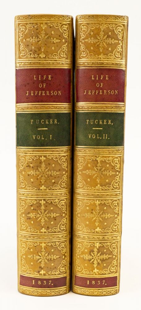THE LIFE OF THOMAS JEFFERSON. THOMAS JEFFERSON, GEORGE TUCKER.