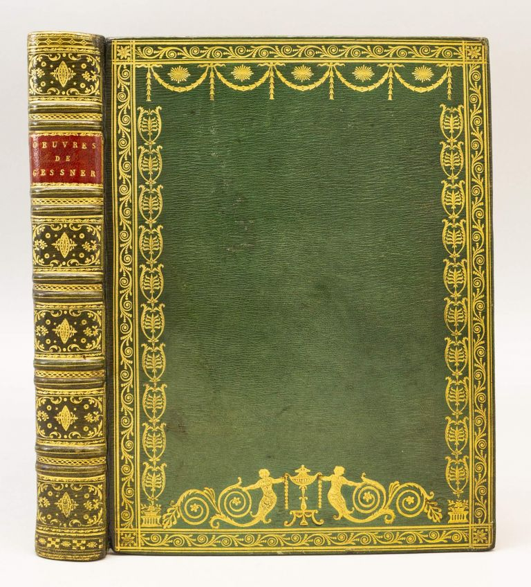 OEUVRES. BINDINGS - NEOCLASSICAL, SALOMON GESSNER.