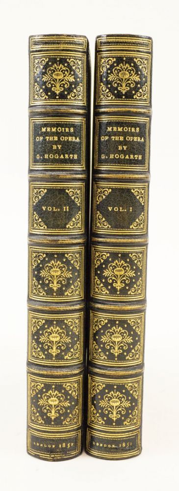 MEMOIRS OF THE OPERA IN ITALY, FRANCE, ENGLAND, AND GERMANY. BINDINGS - SMEERS, GEORGE HOGARTH, HISTORY OF OPERA, NAZI GERMANY.