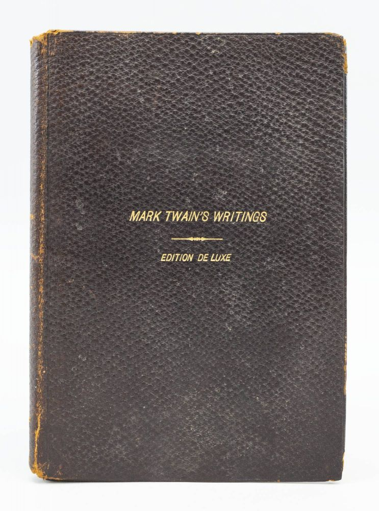 "PROSPECTUS FOR THE EDITION DE LUXE OF ""MARK TWAIN'S WRITINGS."" SAMUEL L. CLEMENS, "" ""MARK TWAIN, Pseudonym."