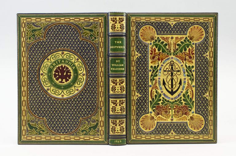 THE SHIPWRECK: A POEM. BINDINGS - JEWELLED, WILLIAM FALCONER.