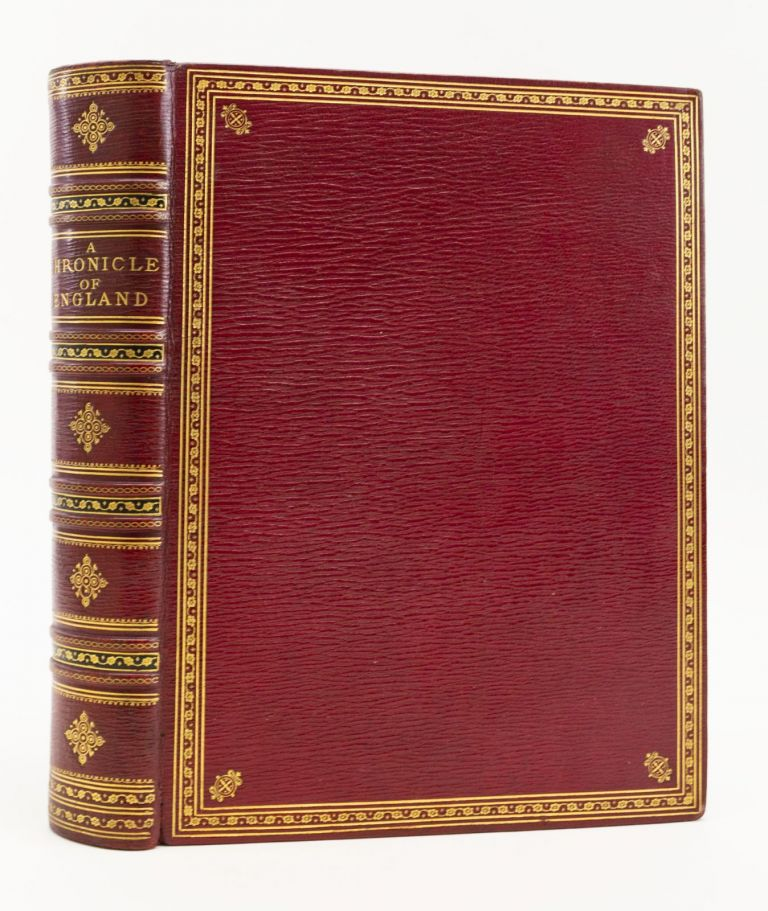 A CHRONICLE OF ENGLAND. JAMES E. DOYLE, Author and, Printer EDMUND EVANS.