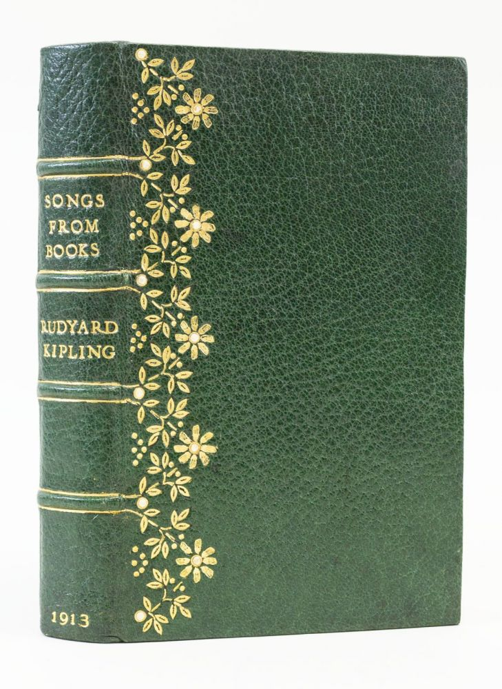 SONGS FROM BOOKS. BINDINGS, RUDYARD KIPLING.
