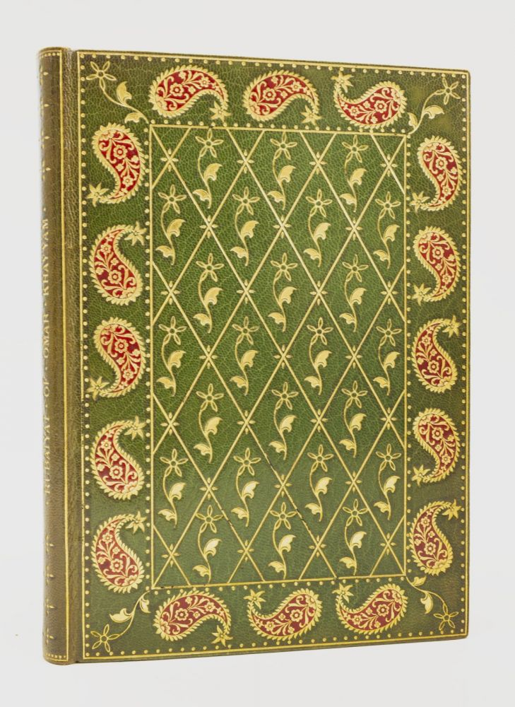 THE RUBÁIYAT. BINDINGS - PERSIAN DESIGN, OMAR KHAYYÁM.