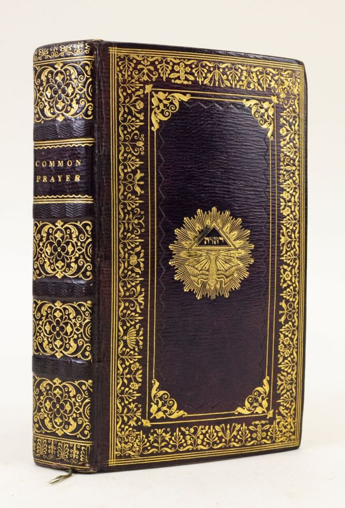 THE BOOK OF COMMON PRAYER . . . TOGETHER WITH THE PSALTER OR PSALMS OF DAVID, 19TH CENTURY BINDINGS - ENGLISH.