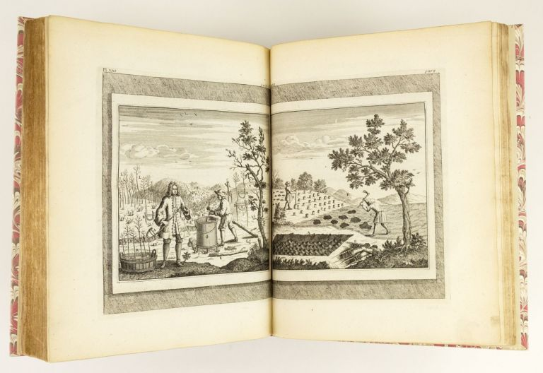 A PHILOSOPHICAL TREATISE OF HUSBANDRY AND GARDENING: BEING A NEW METHOD OF CULTIVATING AND INCREASING ALL SORTS OF TREES, SHRUBS, AND FLOWERS. HORTICULTURE - 18TH CENTURY, GEORG ANDREAS AGRICOLA.