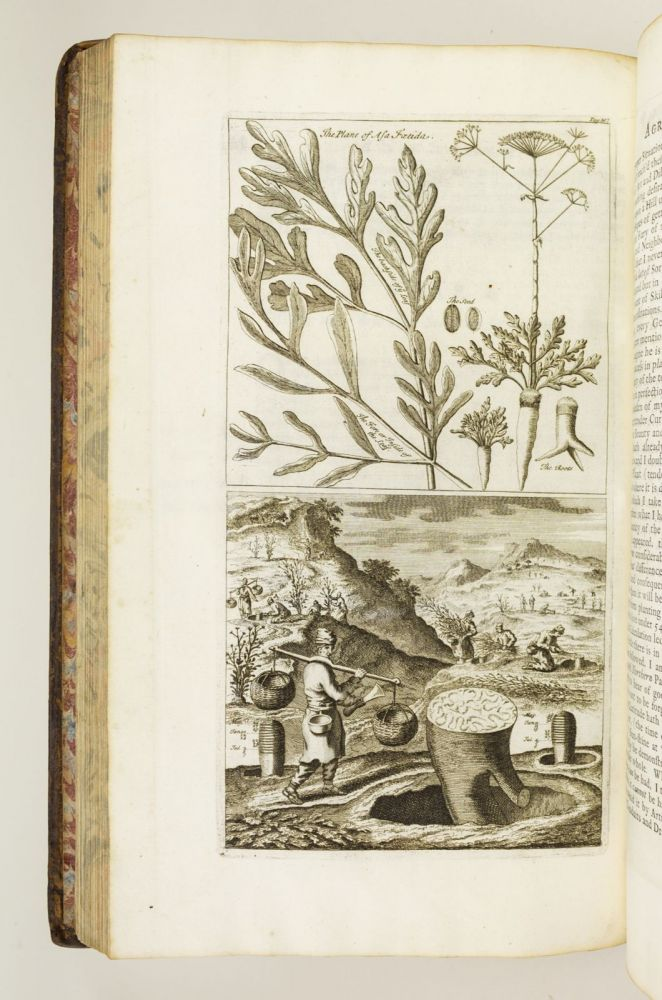 A NEW SYSTEM OF AGRICULTURE. BEING A COMPLETE BODY OF HUSBANDRY AND GARDENING. AGRICULTURE - 18TH CENTURY, JOHN LAURENCE.
