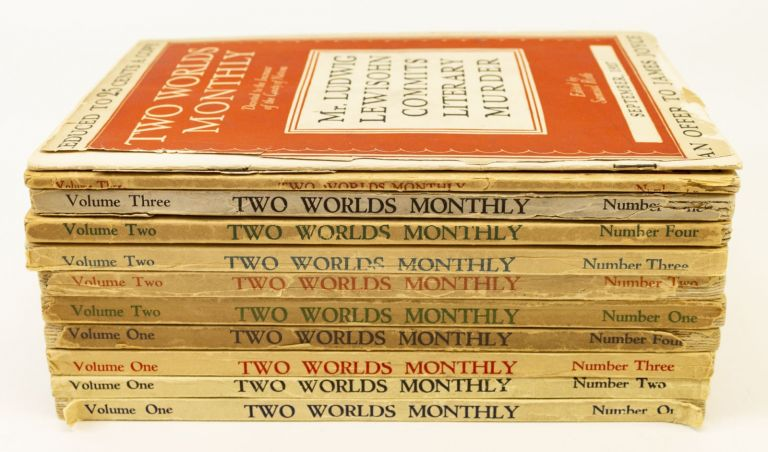 TWO WORLDS MONTHLY. JAMES JOYCE.