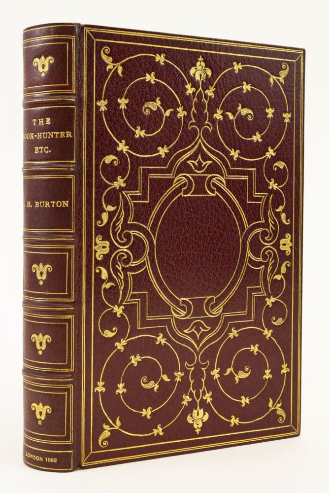 THE BOOK-HUNTER ETC. BINDINGS - H. WOOD, JOHN HILL BURTON.