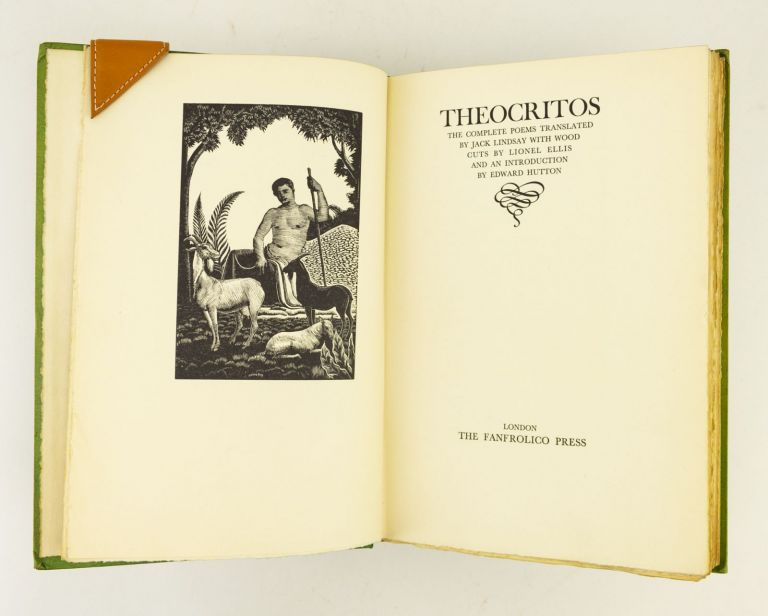 THE COMPLETE POEMS OF THEOCRITOS. FANFROLICO PRESS, THEOCRITUS.