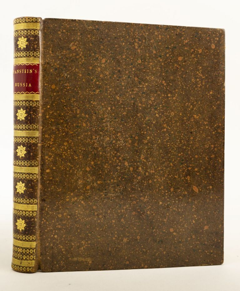 MEMOIRS OF RUSSIA, FROM THE YEAR 1727 TO THE YEAR 1744. RUSSIA, CHRISTOPH HERMANN VON MANSTEIN.