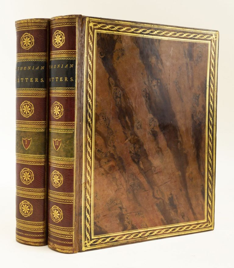 ATHENIAN LETTERS: OR, THE EPISTOLARY CORRESPONDENCE OF AN AGENT OF THE KING OF PERSIA, RESIDING AT ATHENS DURING THE PELOPONNESIAN WAR. BINDINGS - FRÖDING OF AMSTERDAM, PHILIP YORKE, CHARLES YORKE, EARL OF HARDWICKE.