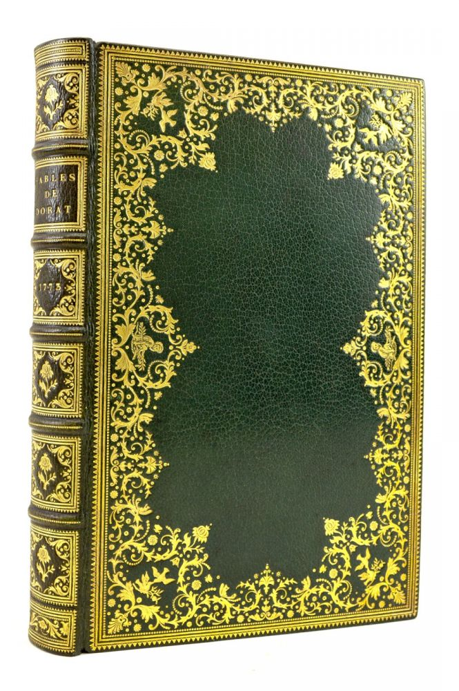 FABLES NOUVELLES. BINDINGS - CUZIN, CLAUDE-JOSEPH DORAT, FRENCH ILLUSTRATED BOOKS.