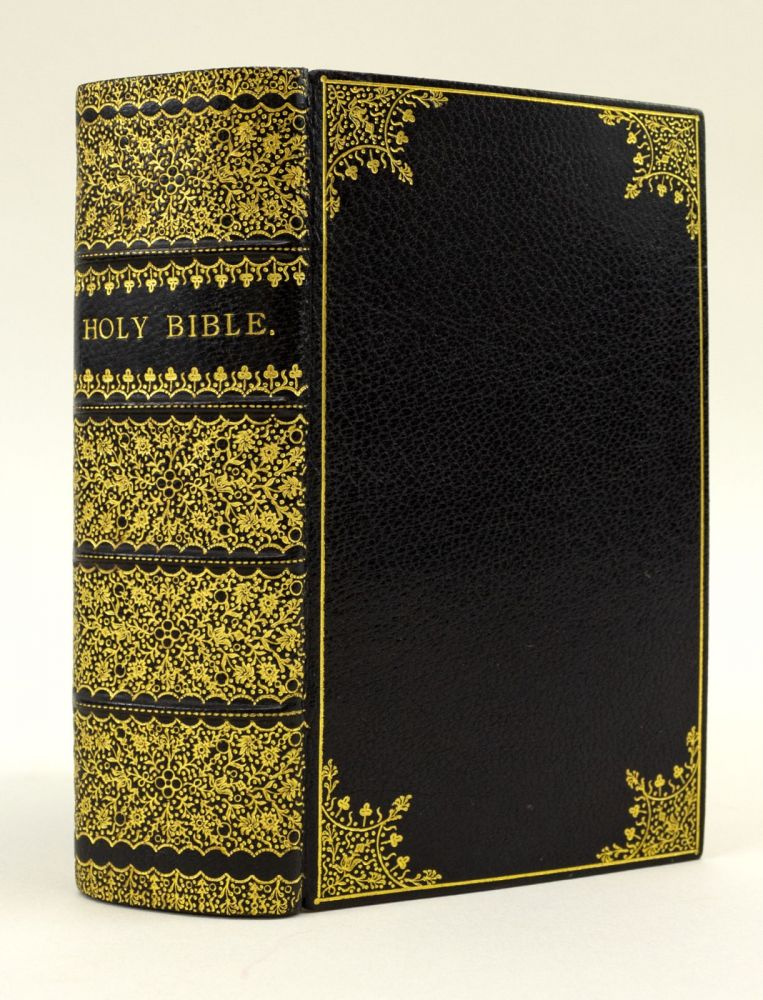 THE HOLY BIBLE, CONTAINING THE OLD AND NEW TESTAMENTS. BIBLE IN ENGLISH, BINDINGS - VICTORIAN.